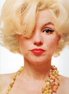 Marilyn Monroe photographed by Bert Stern, 1962
