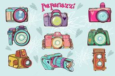 Check out Paparazzi by marushabelle on Creative Market