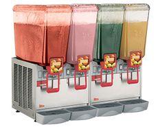 Cecilware Arctic Economy 20/4PE Four Bowl 5.4 Gallon Premix Cold Beverage Dispenser