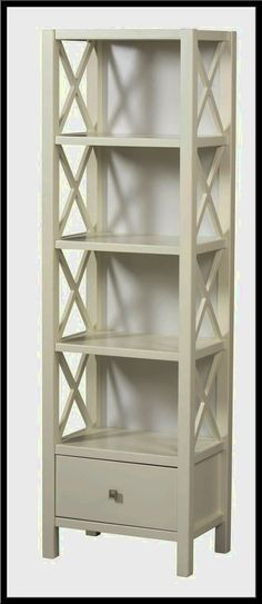 White Narrow Bookcase - http://ladderbookcases.xyz/11378-white-narrow-bookcase/