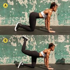 cff7e69ef9d52 Kim Kardashian Butt Workout - 6 Glute Exercises to Try Thigh Exercises