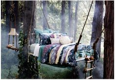 omgosh..this would be awesome in a back yard under a canopy :))