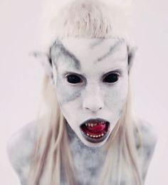 Yo-Landi Vi$$er #monster #makeup #strange #music