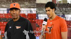 Arturo Defreites y Steven Moya de los Toros del Este hablan en entrevista para figureo56. com