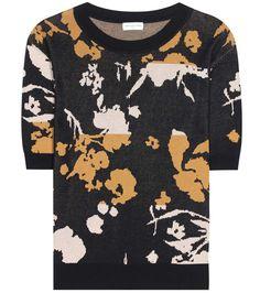 DRIES VAN NOTEN Knitted jacquard T-shirt. #driesvannoten #cloth #shirt
