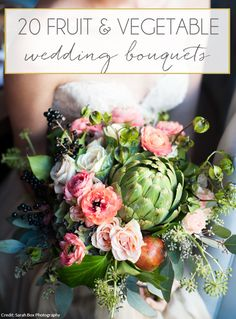 When our Farmer's Market theme for March was decided on, there was one post from our archives that I was particularly excited to revisit. This roundup of fruit & vegetable bouquets has be…