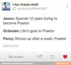Yeah Percy Wins