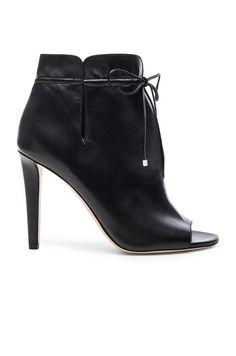 5eb09369fdd2  jimmychoo  shoes   Leather High Heel Boots