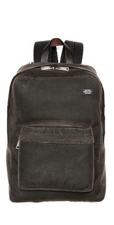 Jack Spade Waxwear Backpack