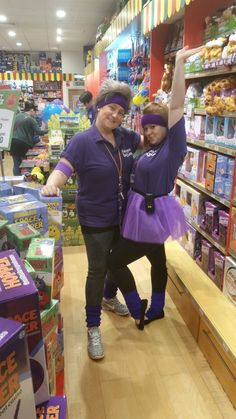 Here is our Bluewater team getting into the Gosh fundraising spirit!