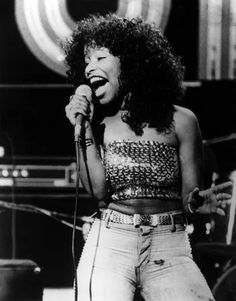 She's every woman. She's been through the fire, and with her big hair and even bigger voice, Chaka Khan has earned her place in the hall o. Black Celebrities, Celebs, Divas, Muse, Jazz, Chaka Khan, Hip Hop, Vintage Black Glamour, Black Girl Aesthetic