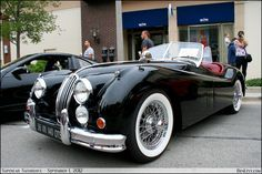 1956 Jaguar XK140 OTS Why don't we make cars with curves anymore?