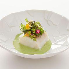 Michelin Food, Recipe Images, Food Plating, Panna Cotta, Nom Nom, Rooms, Indoor, Landscape, History