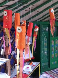 chinese carp kites... Fish theme lake projects