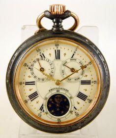 Reloj lepine ASTRONOMICO Privilegiado c.1880