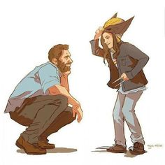 Uploaded by Tatiana Pais. Find images and videos about Marvel, logan and wolverine on We Heart It - the app to get lost in what you love. Heros Comics, Marvel Dc Comics, Marvel Heroes, Captain Marvel, Logan Laura, Avengers, Logan Wolverine, Wolverine Art, Anime Characters