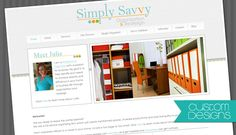 Blog Designs, Custom Blog Design, Pre-made Blog Design - Designer Blogs