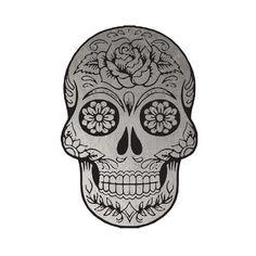 Silver Sugar Skull