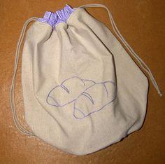 LNIANY WOREK na pieczywo NATURAL BAGS w HANAKO na DaWanda.com