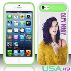 IPhone 5S Glow in Dark Case on #Etsy! It's Katy Perry AND Lyme green! :)