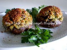 La cucina degli Angeli: Funghi champignon ripieni