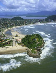 Guaratuba, Brazil_Beautiful beach on the coast of Paraná. One of the most beautiful places that already was ....