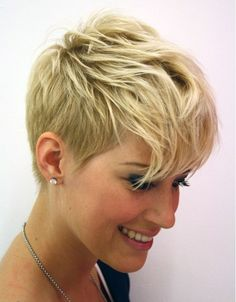 Very Short Hairstyles for Women with Thick Hair 2015