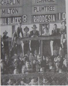 In 1949 Rhodesia beat the All Blacks! Zimbabwe History, World Wide Sports, Six Nations, World Rugby, All Blacks, All Nature, Ol Days, Old Pictures, Family History