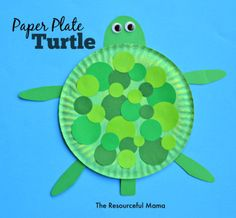 "Animaux "" La Famille tortue "" Concept Of Paper Plate Turtle Crafts for Preschoolers Ocean Crafts, Vbs Crafts, Daycare Crafts, Preschool Crafts, Arts And Crafts, Sea Turtle Crafts, Ocean Themed Crafts, Ocean Animal Crafts, Toddler Art"