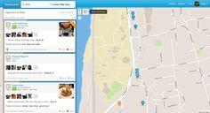 Foursquare map search
