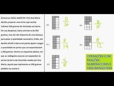 Curso de Matemática Operações com frações Números fracionários represent...https://youtu.be/wW25tNhphKE
