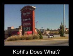 Kohls!