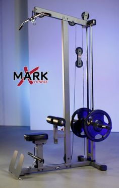 Amazon.com : XMark Lat Pulldown and Low Row Cable Machine XM-7618 : Arm Exercise Machines : Sports & Outdoors