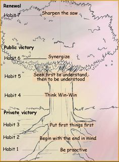 7 Habits Tree Diagram - Bing Images | The Leader In Me | Pinterest