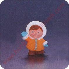 1993 Eskimo Child - Merry Miniature