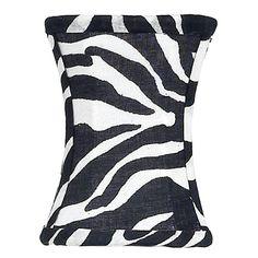 Hourglass Chandelier Shade Zebra Fab Style Kids Rooms http://fabstylekidsrooms.com/Lighting/Lamp-Shades/Hourglass-Chandelier-Shade-Zebra #zebra #lighting #lampshade