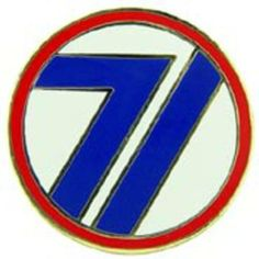 "U.S. Army 71st Infantry Division Pin 1"" by FindingKing. $8.99. This is a new U.S. Army 71st Infantry Division Pin 1"""