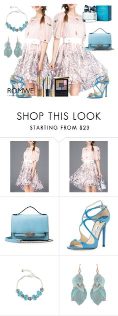 """""""10#Romwe"""" by fatimka-becirovic ❤ liked on Polyvore featuring Jimmy Choo, Yves Saint Laurent and Tommy Hilfiger"""