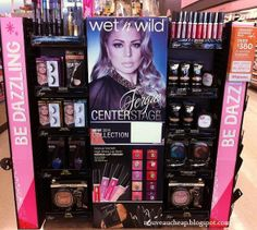 Spotted: NEW 2014 Wet n Wild Fergie Centerstage Collection. For a closer look at all of the new products in this display, visit my blog!
