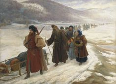 Avvakum in viaggio verso la Siberia Old Believers, Winter Palace, Russian Painting, Period Costumes, Orthodox Icons, Medieval, History, Unity, Homeschooling