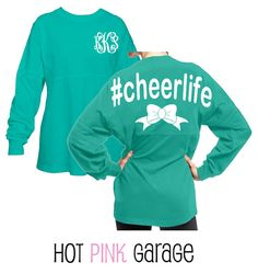Cheer Life Ault Size Listing by HotPinkGarage on Etsy