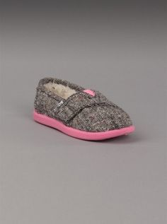 9eb246e0875 TOMS Shoes Tiny Classics in Silver Karsen -- soooo cute