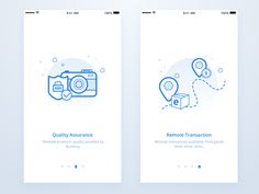 Intro Pages by Edison Li - Dribbble