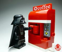 El cafe Lego es tan rico que hasta darth vader lo recomienda - Deringa I Love Coffee, My Coffee, Coffee Cups, Coffee Shop, Espresso Coffee, Coffee Break, Coffee Talk, Funny Coffee, Coffee Lovers
