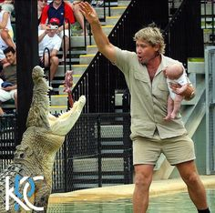 In Memoriam: CrocodileHunter, Steve Irwin, was killed in a freak stingray attack while filming a TV show. #RIP