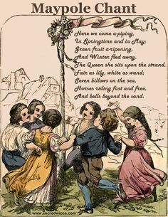 beltane maypole chant sacred wicca