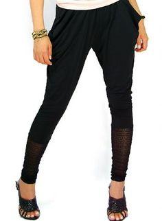 TR baggy pants [Leggings,Tights,Bottoms,Pants],  Bottoms, Leggings  Tights  Pants  Legin  bottom, Bohemian (Boho) / Hippie    #UsTrendy, #Spring, #Style