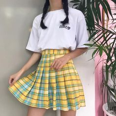 Girls By /& By Pink Back Zip Closure Uptown Girl Plaid Flared Lined Skirt