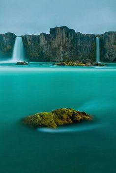 Waterfall of Gods, Iceland.