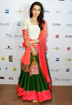 Karisma Kapoor at Masala! Awards in Manish Malhotra
